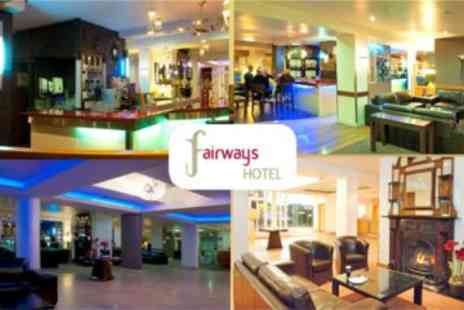 Fairways Hotel - In Dundalk - OverNight Stay for 2 plus a Bottle of Wine on Arrival - Save 64%