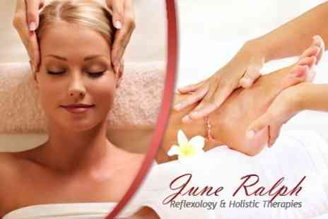 June Ralph - Back Massage, or Indian Head Massage, With Reflexology - Save 62%