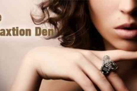 The Relaxation Den - Manicure and Pedicure - Save 60%