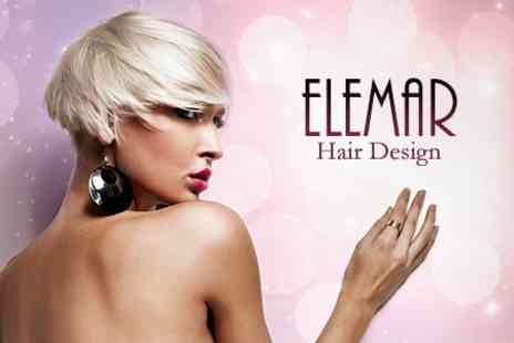 Elemar Hair Design - Half Head Foil Highlights With Cut and Finish - Save 60%