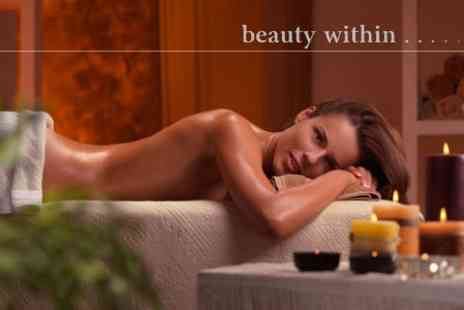 Beauty Within - 30 Minute Back Aromatherapy Candle Massage - Save 52%