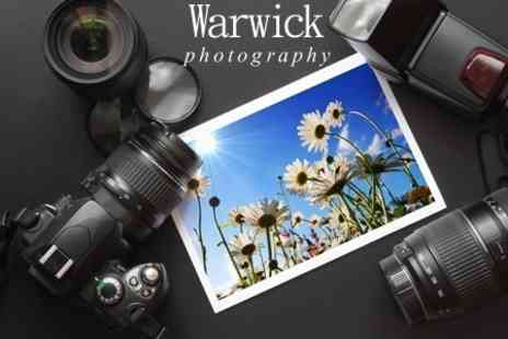 Warwick Photography - Photography Class For One With Print - Save 50%