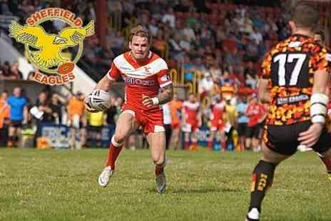 Sheffield Eagles RLFC - Championship Match Ticket For One Adults - Save 62%