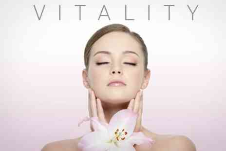 Vitality Beauty and Gym - Back Massage and DECLEOR Facial, Plus File and Revarnish - Save 60%