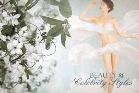 Beauty @ Celebrity Styles - Beauty Package Choice of Three Treatments - Save 62%