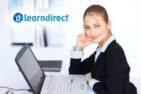 Learndirect - Microsoft Office 2010 E Learning Bundle Including Excel, Word, Access, PowerPoint and Outlook - Save 91%