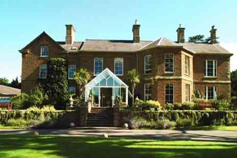 Sedgebrook Hall - In Northamptonshire One Night Stay For Two With Two Course Meal, Wine and Late Check Out - Save 26%
