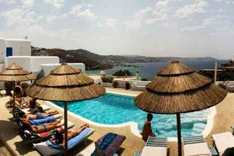 Princess of Mykonos - In Mykonos Three Night 4star Stay For Two With Spa Treatment, Breakfast and Transfers - Save 66%
