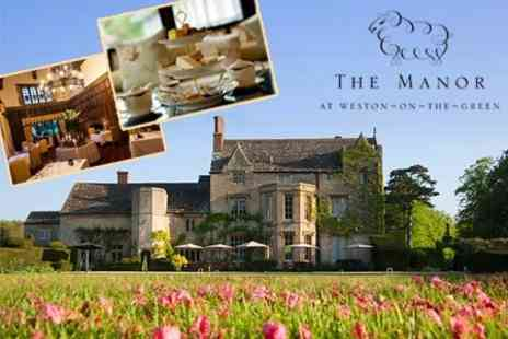 The Manor - Afternoon Tea For Two - Save 55%