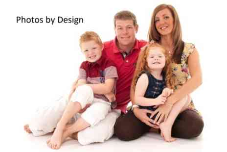 Photos by Design - Photoshoot Family, Couples, or Baby With Four Prints and Digital Image - Save 93%