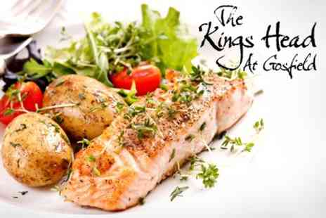 The Kings Head - Two Course Gastro Pub Meal For Two - Save 67%