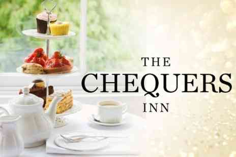 The Chequers Inn - Dorset Afternoon Tea For Two - Save 45%
