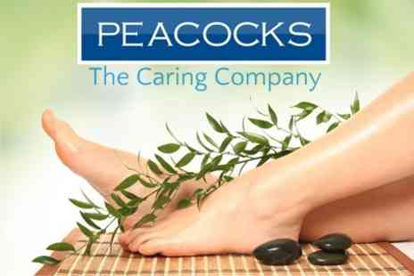 Peacocks - Podiatrist Appointment With Assessment and Treatment - Save 64%