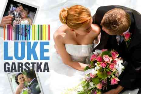 Luke Garstka Photography - Wedding Photography Package With Coverage by Two Photographers and Prints - Save 40%