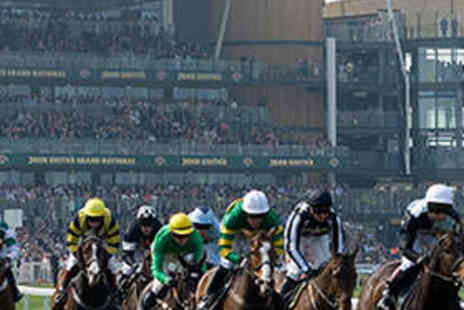 Aintree Racecourse - Admission for Two to Race Evening - Save 54%