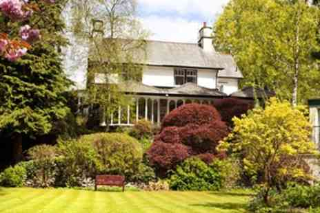 Burn How Garden House Hotel - Lake District Getaway with Dinner & Wine - Save 46%