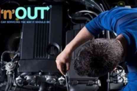 IN and Out - Xpress MOT With Oil and Fluid Top Up - Save 60%