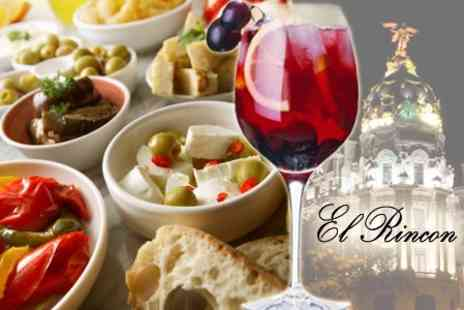 El Rincon - Spanish Tapas and Sangria For Two - Save 60%