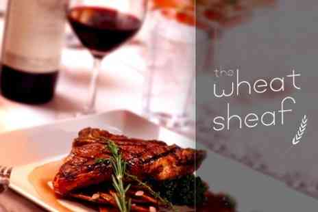 The Wheatsheaf - Choice of Steak For Two or Four With Bottle of Wine - Save 55%