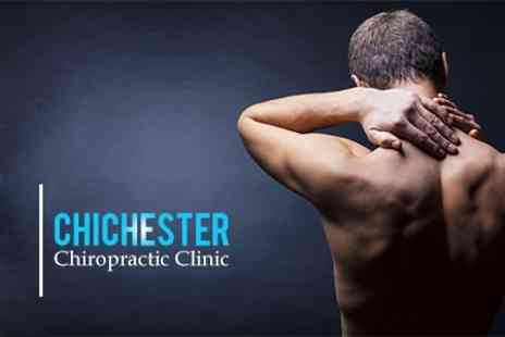 Chichester Chiropractic Clinic - Three Treatments and Consultation - Save 77%
