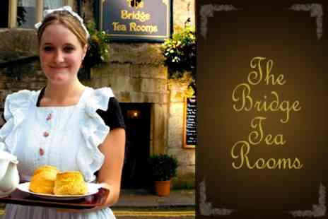 The Bridge Tea Rooms - 'Queen Victoria' Afternoon Tea For Two - Save 47%