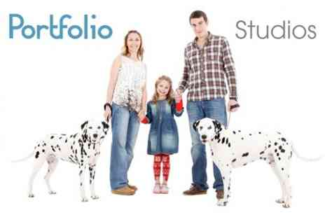 Portfolio Studios - Photoshoot With Seven Prints - Save 92%