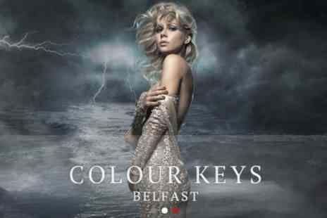 Colour Keys - Full Foils Plus Cut, Conditioning and Blow Dry - Save 61%