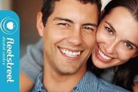 Fleet Street Dental - Invisalign Clear Braces For Top and Bottom Arches With Retainers - Save 57%