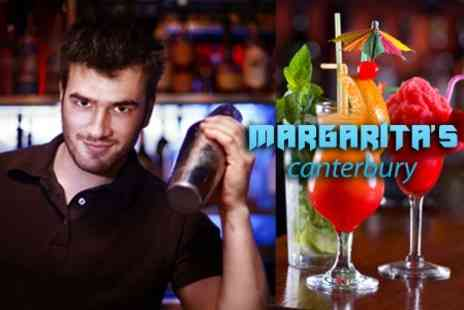 Margaritas Canterbury - Cocktail Mixing Class For Two People - Save 47%