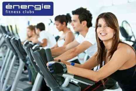 Energie Fitness - Ten Gym Passes With Access To Exercise Classes - Save 81%