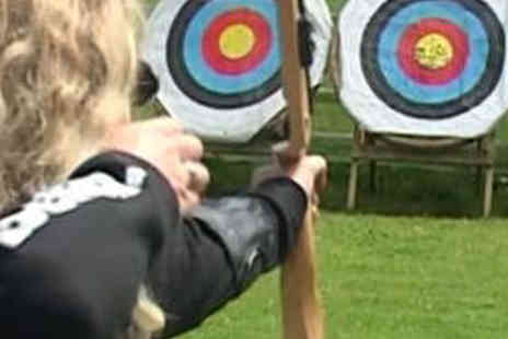 Perriswood Farm - Air Rifle Range and Archery Experience For Two - Save 52%