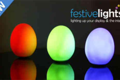 Festive Lights - Colour changing LED light set - Save 50%