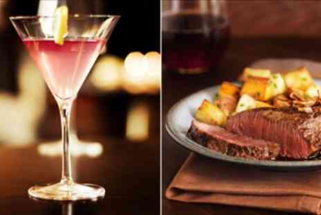The Ivory Rooms - 'Excellent' Steak Dinner & Cocktails for 2 - Save 53%