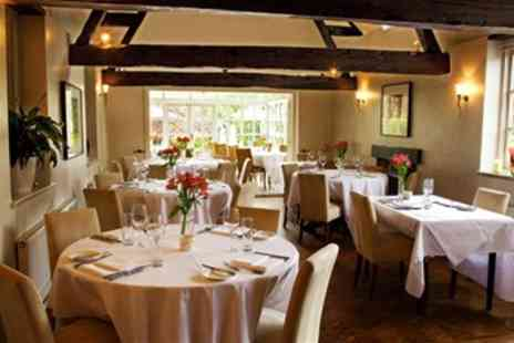 Old House Hotel & Restaurant - Award Winning Steak Dinner for 2 with Wine - Save 49%