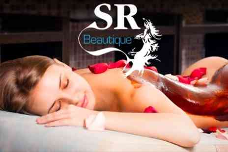 SR Beautique - One Hour Massage or Mud Wrap - Save 67%