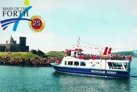Maid of the Forth - Firth of Forth Sightseeing Boat Tour For Two - Save 58%