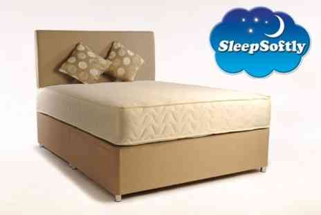 Sleep Softly - Orthopaedic or Pocket Sprung Mattress in Choice of Size - Save 80%