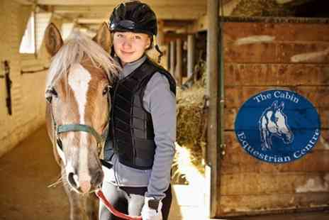 The Cabin Equestrian Centre - Horse Riding Group Lessons - Save 61%