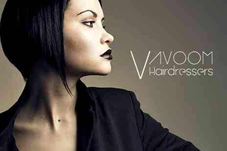 Vavoom Hair Salon - Cut and Restyle With MOROCCANOIL Conditioning - Save 69%