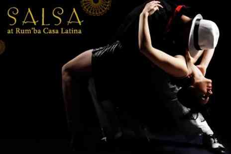 Salsa @ Rum'ba Casa Latina - Six 60 Minute Salsa Classes - Save 67%