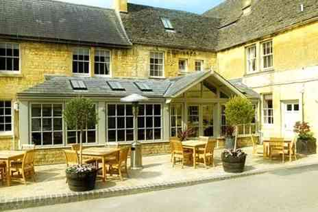 Noel Arms Hotel - In Cotswolds One Night Stay For Two With Dinner, Cream Tea and Spa Access - Save 54%