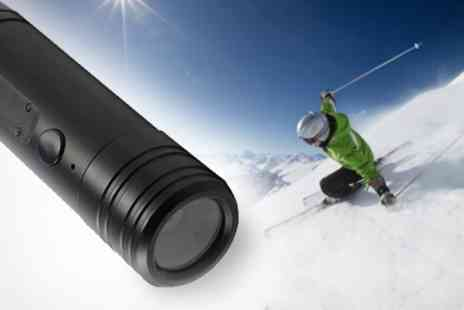 Chilli Technology - Action Camera With 120 Degree Lens - Save 42%