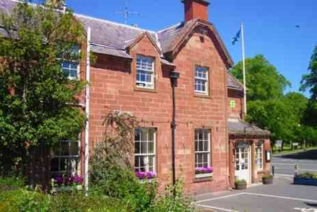 The Buccleuch Arms Hotel - In Scottish Borders One Night Stay For Two - Save 51%