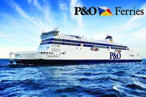 P&O Ferries - Return Dover to Calais Crossing For Two People In One Car - Save 54%