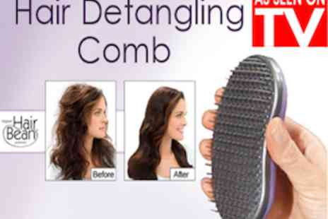 Smart Lass - Hair Bean Detangling Brush As Seen On TV  Use On Wet Or Dry Hair - Save 60%