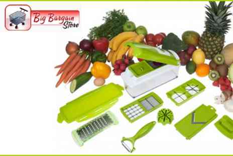 Bigbarginstore - Get Slicing and Chopping in the Kitchen with this Vegetable Fruit Nicer Dicer Slicer Cutter - Save 50%