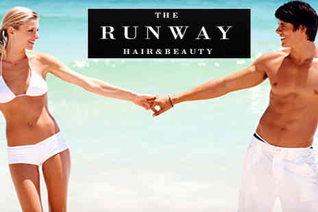 The Runway - Either 30 or 60 minutes of tanning in their sunbeds get that summer glow without the sunshine. - Save 42%