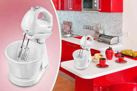 GimmeSome.co.uk - Elgento 2 in 1 Stand and Hand Mixer - Save 50%