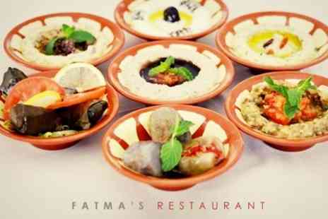 Fatmas Restaurant - Lebanese Meze With Wine Five Plates For Two - Save 55%