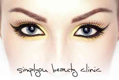 Simplyou Beauty Clinic - Pro Brows and 3D Eyelash Extensions - Save 25%